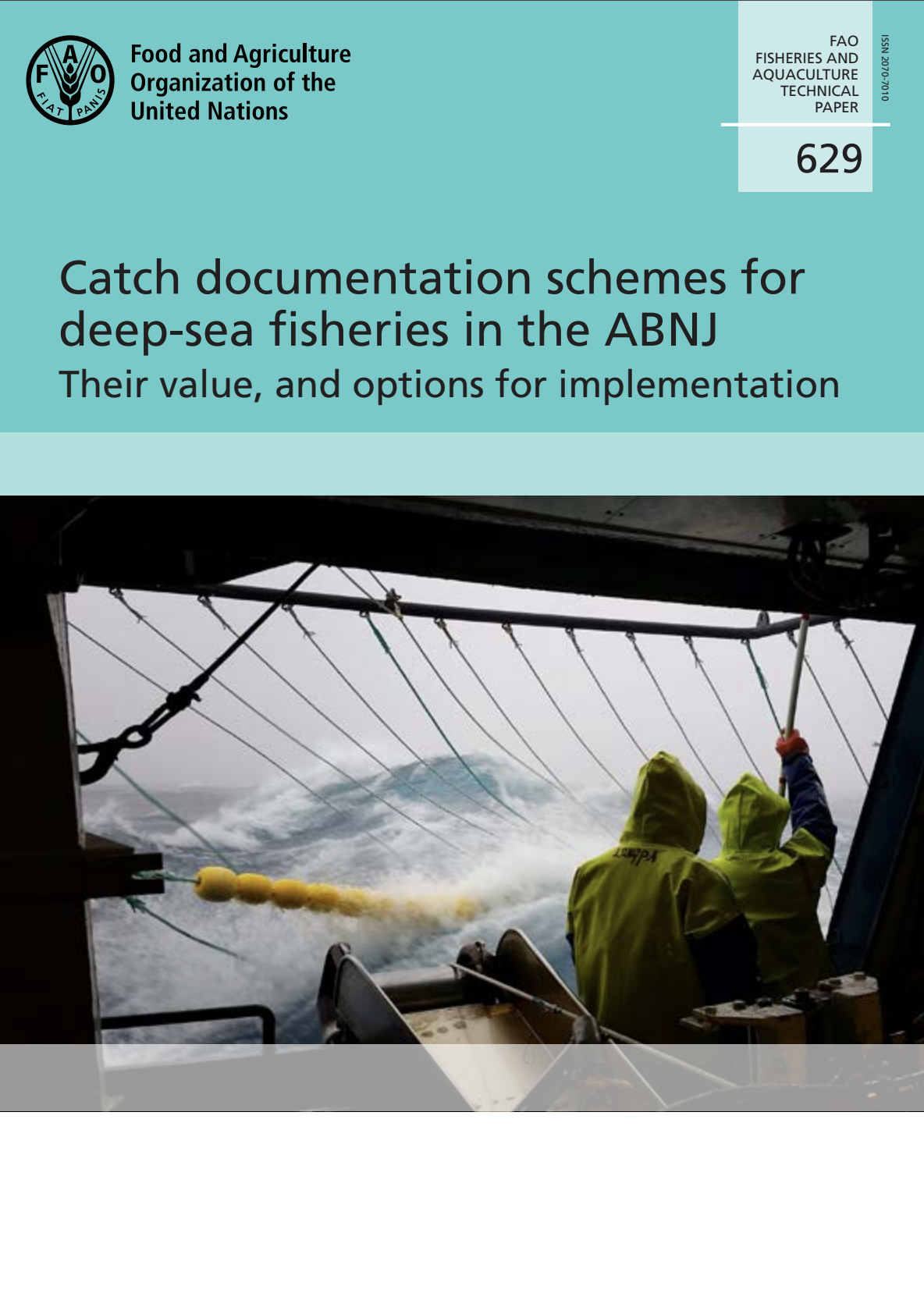 Catch documentation schemes for deep-seas fisheries in the ABNJ, their value and options for implementation